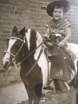 David Haas, 3 years old